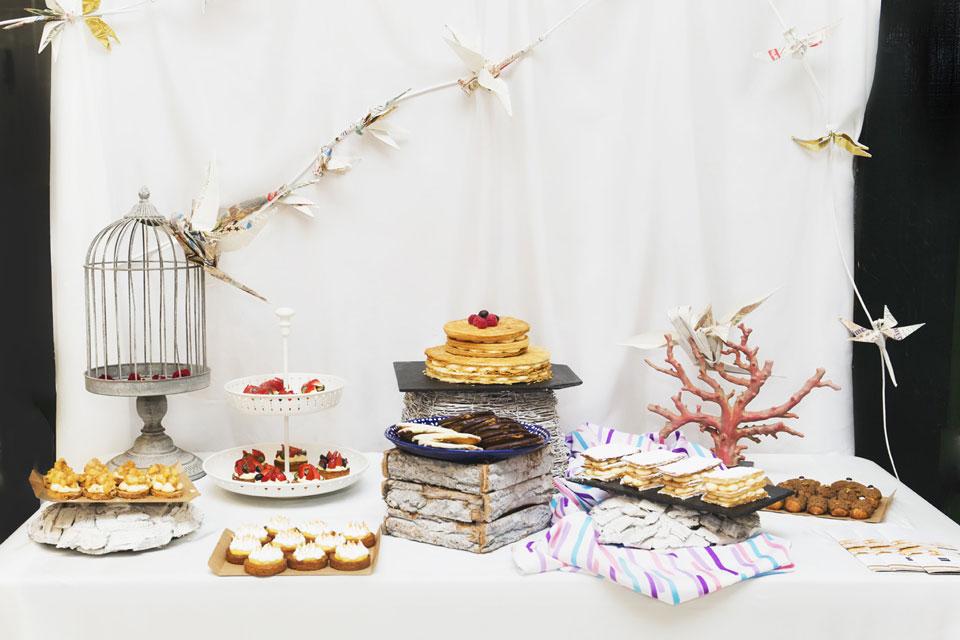 Mesas dulces - Charamesa Libélulas