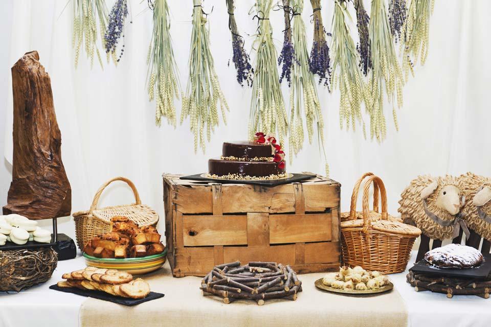 Mesas dulces - Charamesa Rústica